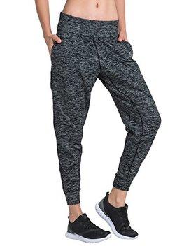 Matymats Women's Sports Harem Sweat Pants Jersey Pocket Jogger by Matymats