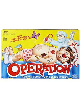 Classic Operation Game by Hasbro