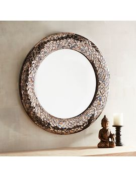 Avalon Mosaic Round Mirror by Pier1 Imports
