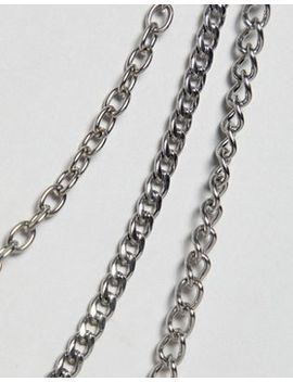 7 X Triple Belt Chain by Asos Brand