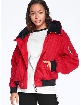 Hooded Flight Jacket by Victoria's Secret