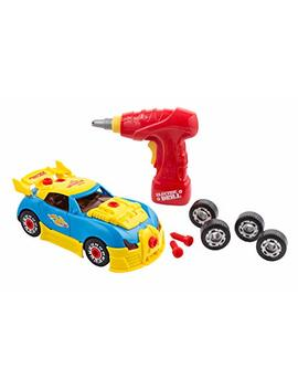 Big Mo's Toys Build Your Own Race Car   Stem Toy Racing Car For Kids Gift by Big Mo's Toys