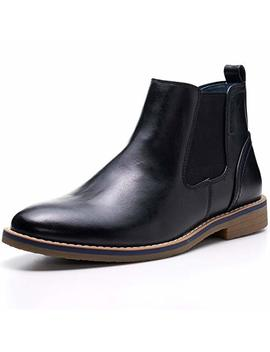 Alpine Swiss Men's Owen Chelsea Boots Pull Up Ankle Boots by Alpine+Swiss
