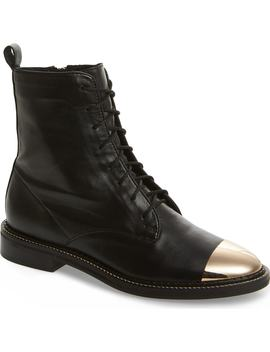 Axel Cap Toe Boot by Topshop