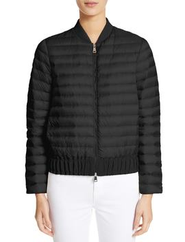 Barytine Quilted Bomber Jacket by Moncler