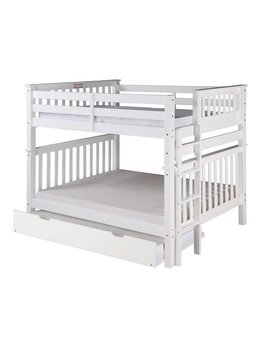 Harriet Bee Lindy Mission Tall Bunk Bed With Trundle & Reviews by Harriet Bee