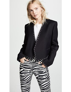 Studded Suit Jacket by Helmut Lang