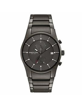 Kenneth Cole New York Men's Quartz Stainless Steel Casual Watch, Color:Grey (Model: Kc15176001) by Kenneth+Cole+New+York