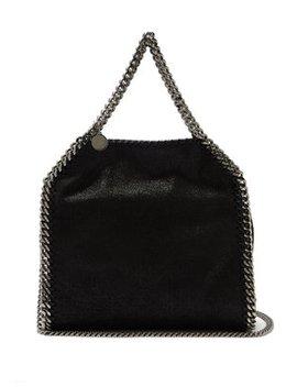 Falabella Mini Faux Suede Cross Body Bag by Matches Fashion