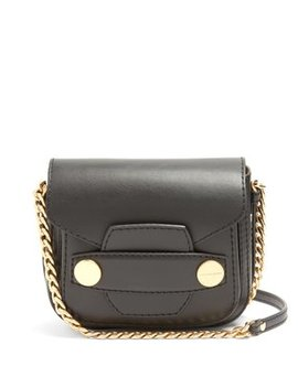 Stella Popper Faux Leather Cross Body Bag by Matches Fashion