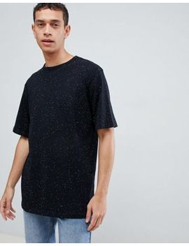 Dead Vintage Oversized Fit T Shirt In Salt N Pepper by T Shirt