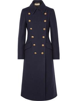 Doppelreihiger Mantel Aus Einer Wollmischung by Burberry