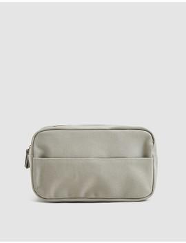Blank Dopp Kit In Cream by Izola