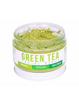 Detox Face Scrub With Green Tea By Teami: Exfoliate, Hydrate, And Moisturize All Skin Types. Our Best Facial Scrubs With Organic Lemongrass For... by Teami
