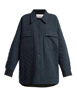 Oversize Quilted Denim Jacket by Matches Fashion