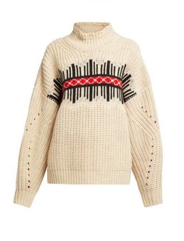 Clotil Roll Neck Wool Sweater by Matches Fashion