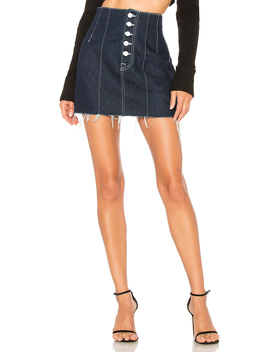 Twiggy Super High Rise Mini Skirt by Grlfrnd