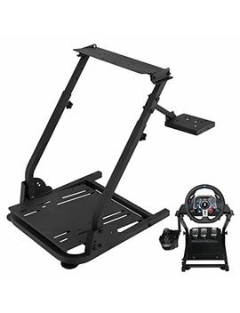 Vevor G29 G920 Racing Steering Wheel Stand Logitech G25 G27 G29 G920 Racing Wheel Pro Stand Wheel Pedals Not Included Gaming Racing Simulator Wheel Stand (Stand, G29) by Vevor