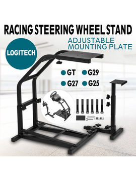 Deluxe V2 Racing Steering Wheel Stand Pro For Simulator Logitech G920 Pro 4 by Vevor