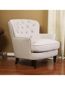 Great Deal Furniture Alfred Royal Vintage Design Upholstered Arm Chair by Great Deal Furniture