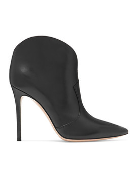 Mable 105 Leather Ankle Boots by Gianvito Rossi