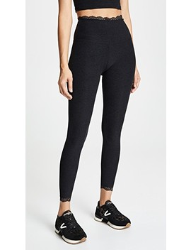 All For Lace High Waisted Leggings by Beyond Yoga