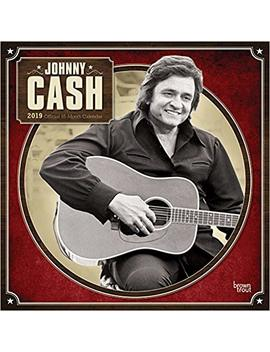 Johnny Cash 2019 12 X 12 Inch Monthly Square Wall Calendar By Merch Traffic, Music Pop Country Singer Songwriter Celebrity by Amazon