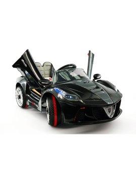 Spider Gt Kids 12 V Ride On Car With R/C Parental Remote | Black by Moderno Kids