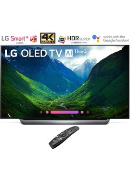 """Lg Oled65 C8 Pua 65"""" Class C8 Oled 4 K Hdr Ai Smart Tv (2018 Model) (Certified Refurbished) by Lg"""