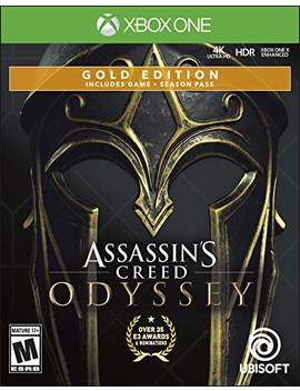 Assassin's Creed Odyssey   Xbox One Gold Steelbook Edition by By          Ubisoft