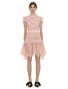Abstract Triangle Lace Dress             Cara by Self Portrait