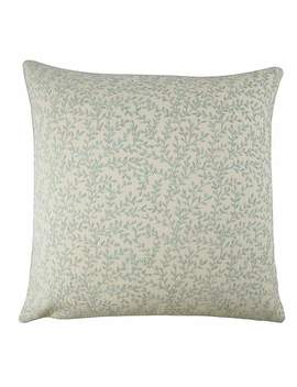Chenille Olivia Duck Egg Cushion Cover by Dunelm