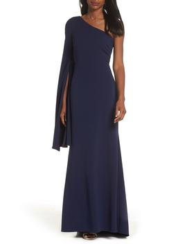 One Shoulder Gown by Vince Camuto