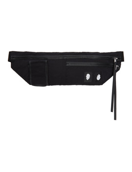 Black Murray Belt Bag by Rick Owens Drkshdw