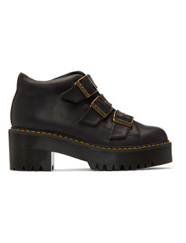 Black Coppola Boots by Dr. Martens