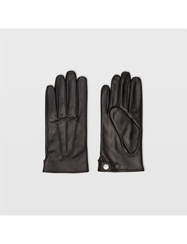 Leather Snap Glove by Club Monaco