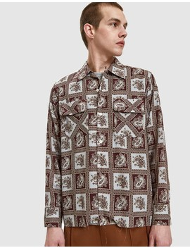 Classic Shirt In Brown by Needles