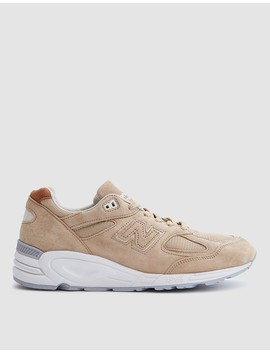 990 Winter Peaks In Tan/White by New Balance
