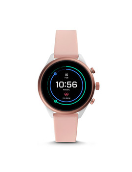 Fossil Sport Smartwatch   Blush Silicone by Fossil