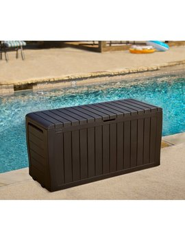 Keter Marvel Plus 71 Gallon Resin Deck Box & Reviews by Keter