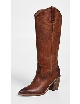Faye Pull On Boots by Frye