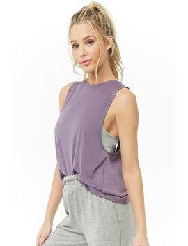 Active Sleeveless Surplice Back Top by Forever 21
