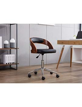 Porthos Home Sibley Office Chair, Black by Porthos Home