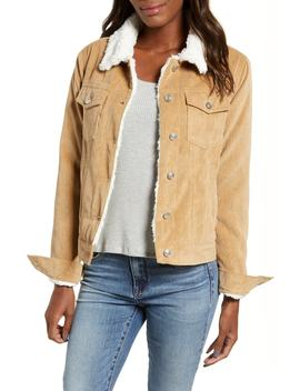 Paddington Fleece Lined Corduroy Jacket by Thread & Supply