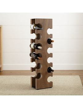 Big Sur Smoke 12 Bottle Standing Wine Rack by Crate&Barrel