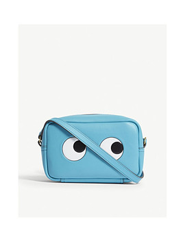 Eyes Mini Leather Cross Body Bag by Anya Hindmarch