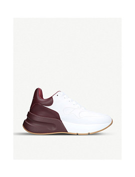 Runner Leather Sneakers by Alexander Mcqueen