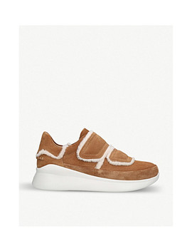 Ashby Spill Seam Suede Sneakers by Ugg