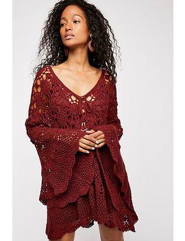Mandala Crochet Tunic by Free People