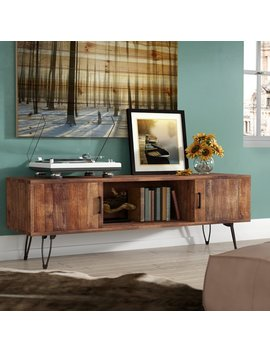 """Union Rustic Adger Media Tv Stand For T Vs Up To 65"""" & Reviews by Union Rustic"""